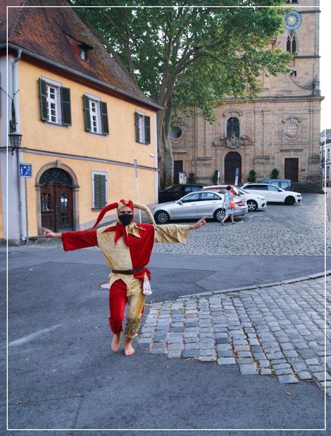 Bamberger Stadtführung unter Corona-Bedingungen