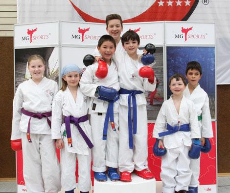Karate Kids Selbstbewußtsein