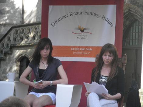 Literaturfest Meißen Lesung Pamela und Josepha Gelfert