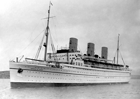 SS  EMPRESS OF JAPAN ( later in 1942 SS. SCOTLAND )