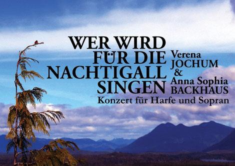 Duo SOVELA Plakat: Wer wird für die Nachtigall singen