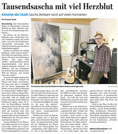 Braunschweiger Zeitung 09.07.2013