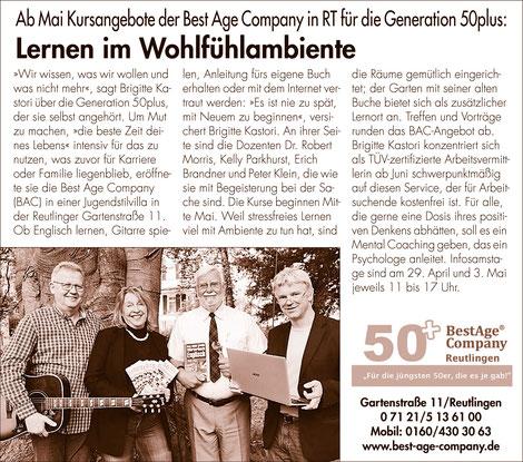 dating 50 Reutlingen