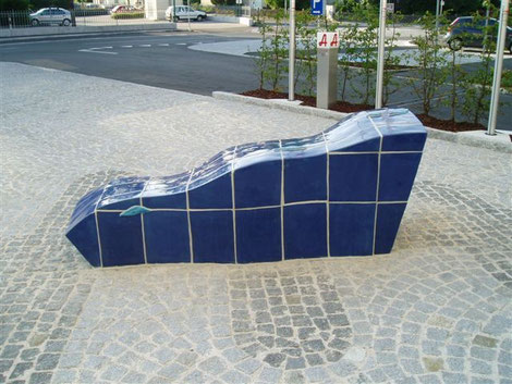 Ortsplatzgestaltung Neuzeug, Neuzeughammer Keramik OG, Beate Seckauer