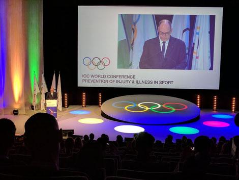 Eröffnungszeremonie IOCprev2017 mit Prinz Albert