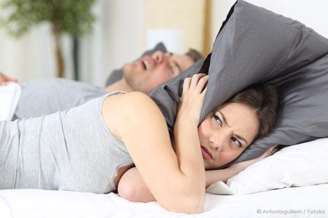 Die Schnarchschiene - unser  Schlafretter für Ihren Schlaf!