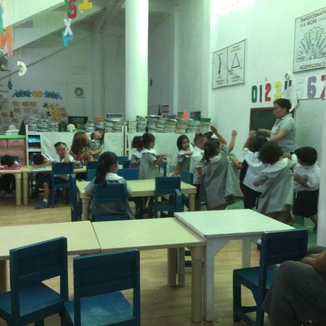 3歳から無料で通える保育園。フィリピンでも子育て支援に力を入れています。