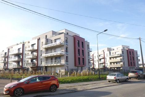 Projet - Les hauts de Périseaux - Bât B&C - Faches-Thumesnil