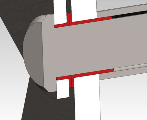 Konzept einer Lagerung mit iglidur Q2