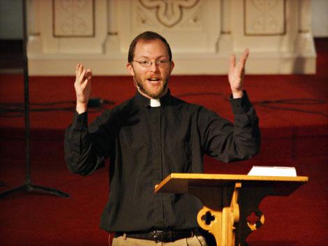 Pastor Broers Preaching
