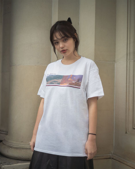 Sm point Printed T-shirt