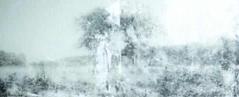 hütten tai  2012    32x84  Acryl/Acryl