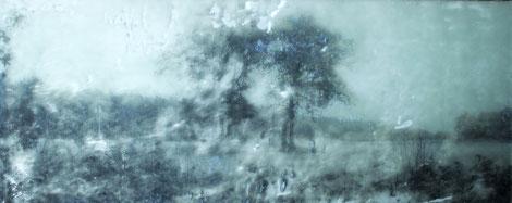 hütten taif   32x84 Acryl/Acryl 2012