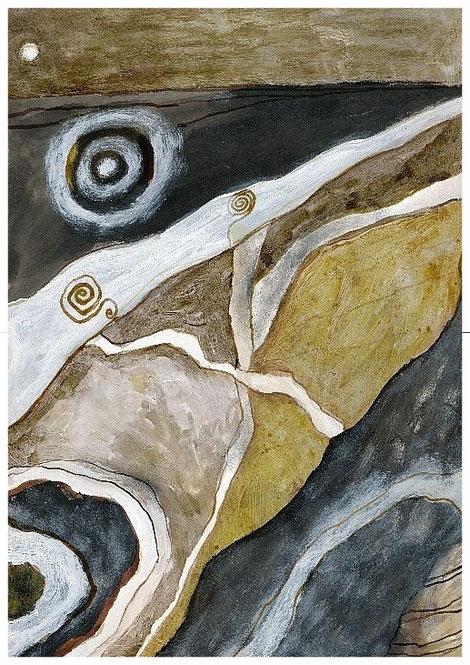 """""""Die Ebene der Mondzeichen"""" 1993, TA TB"""