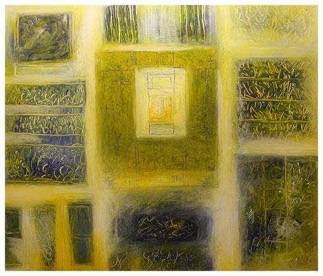 """""""Die Gärten von Agaete"""" 2012, ET/LW 140x120"""