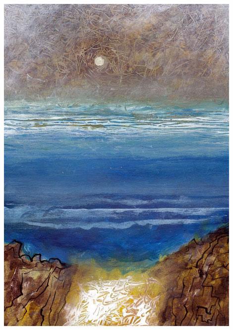 """""""Herbstliche Küste"""" 2010,TA 17x24"""