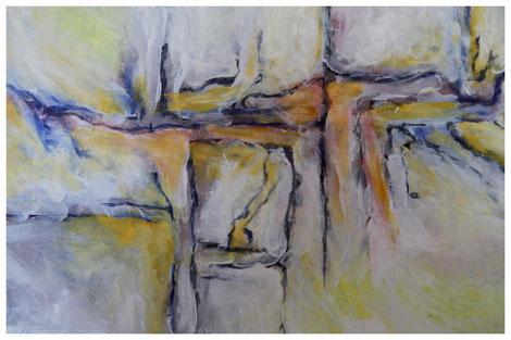 """""""Archäologische Strukturen II"""" Detail"""