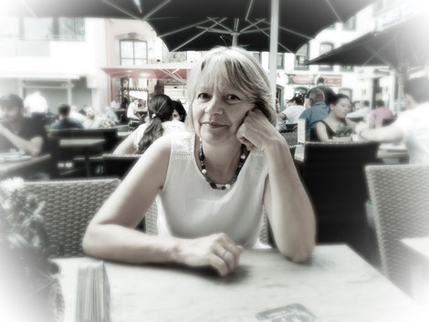 Regina Wuschek, Malerin, Künstlerin, Blaues Land