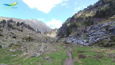 Camino de la Bersurta a Aigualluts