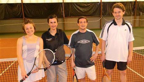 Sabrina Herraney, Frédérique Schell, Cédric Fraisse et Jean-Michel Claudel : les quatre finalistes 2012 du tournoi