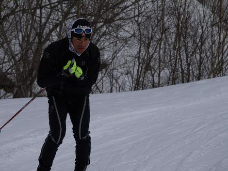 スキーと射撃の迷宮