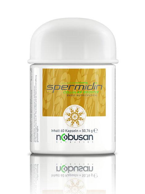 Spermidin aus Weizenkeim-Extrakt mit Sulforaphan, Lycopin, Glutathion und Grüntee-Extrakt
