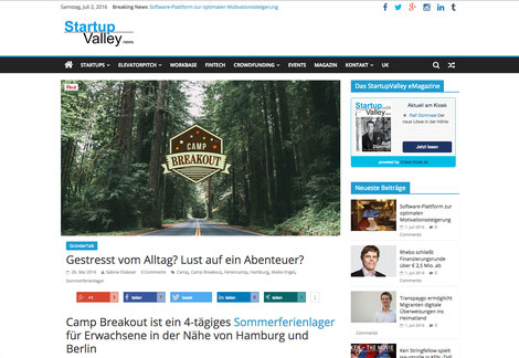 Ferienlager für Erwachsene, Digital Detox, Digitale Auszeit, Camp Breakout, Sommercamp Erwachsene