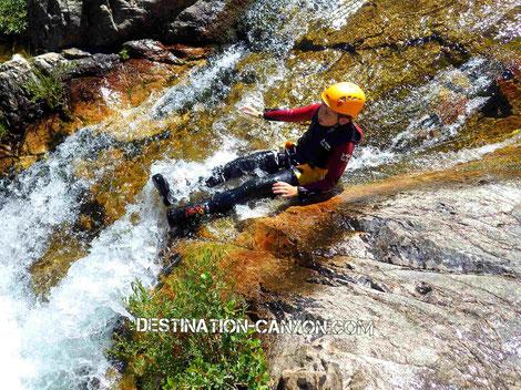 canyoning famille rando aquatique lus la croix haute