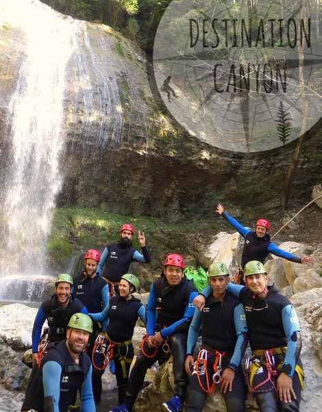 canyoning isère vercors trièves diois