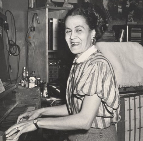 Jeanette kimball - mujeres jazz - pianista jazz mujer