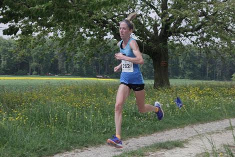 Martina Strähl, Streckenrekordhalterin, 2018