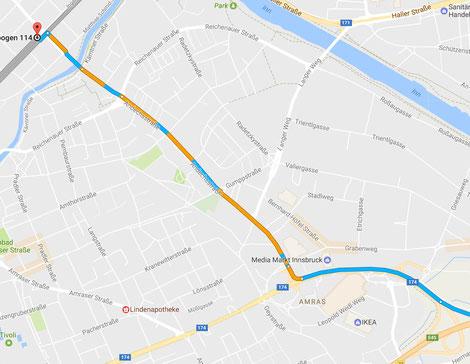 Adresse: Viaduktbogen 114; In der Nähe der Kreuzung Erzherzog-Eugen-Straße - Ingenieur-Etzel-Straße
