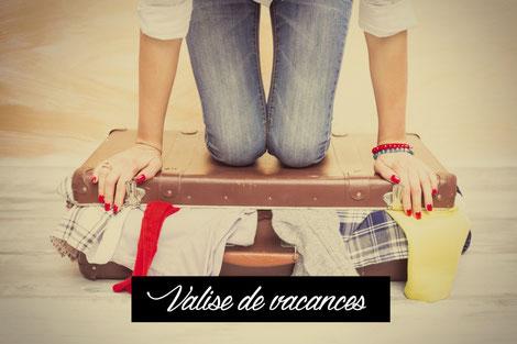Déléguez la préparation de votre valise pour un séjour de courte ou longue durée