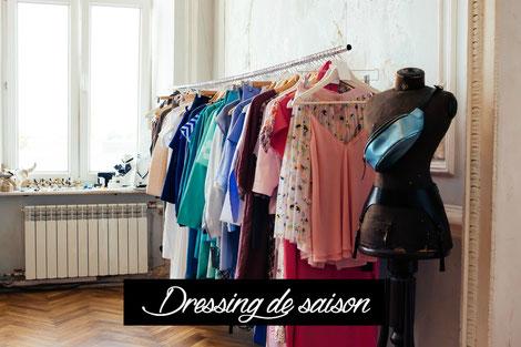 Tri de dressing et création de votre dressing de saison à Lyon