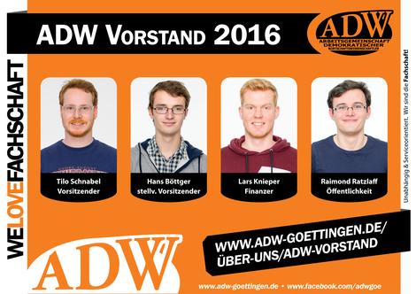 ADW Vorstand Wiwi 2016 Göttingen Uni