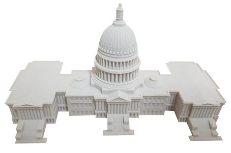 3D-Druck Kapitol in Washington
