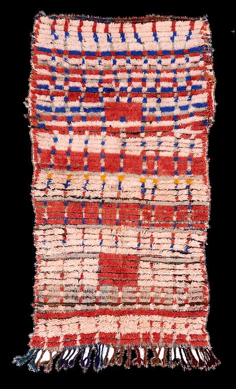 Teppich. Zürich. Vintage Azilal Rug, Morocco. Handgewebter Teppich, Kelim aus Marokko.