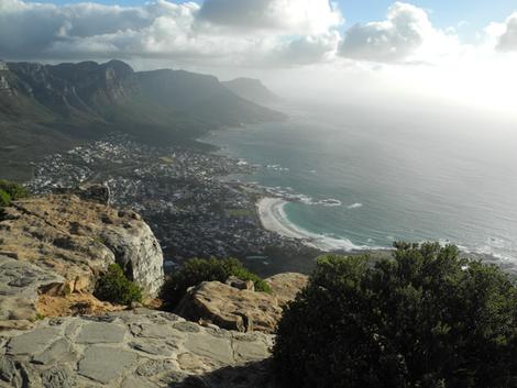 Kapstadt - Camps Bay vom Lionshead