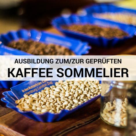 Ausbildung zum geprüften Kaffeesommelier