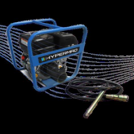 Vibrador Hypermaq motor mpower motor kohler motor honda chicote cabezal