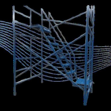 escalera barandal andamio plataformas méxico