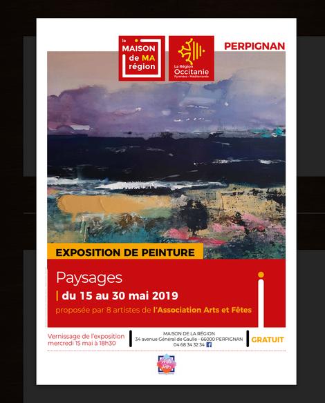 Bernard Legros exposera à la maison des régions à Perpignan