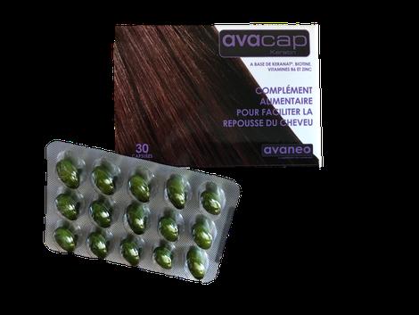 Avacap Keratin, complément alimentaire cheveux