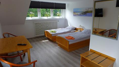 Monteurzimmer Lippstadt Obergeschoss