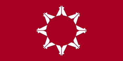 Flagge von Pine Ridge