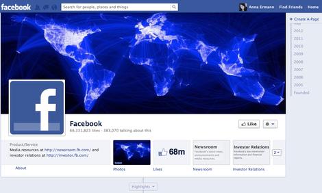 Schöner Schein: Facebooks neue Timeline