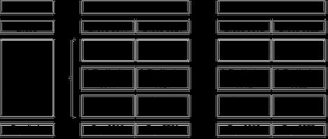 Abbildung Nr. 1: Kostenstellensystem mit zwei Kostenstellen und je zwei Produktgruppen je Kostenstelle