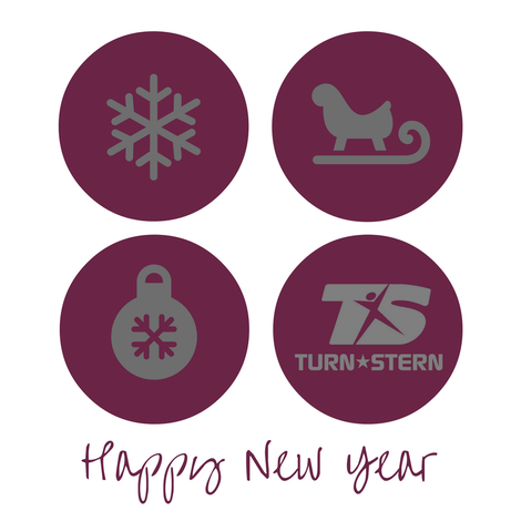 TURNSTERN wünscht euch ein frohes neues Jahr