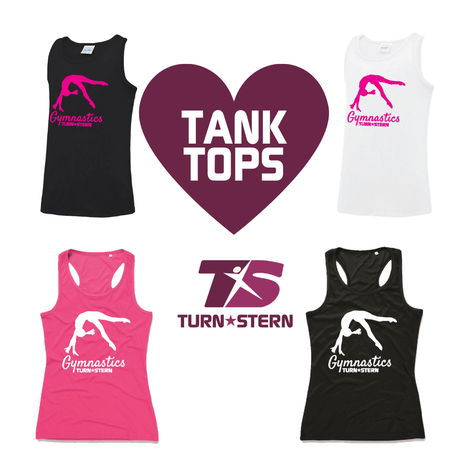 Gymnastics Tanktops by Turnstern