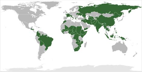 In diesen Ländern ist Ärzte ohne Grenzen e.V. aktiv.